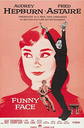 Funny Face Audrey Hepburn Fred Astaire 1957 Poster Art Movie Poster Masterprint (11 x 17)