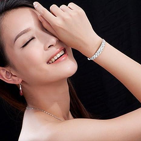Hosaire Bracciale in argento di cielo stellato metal-ajustable /Ø 60/ /70/mm Bracciale catena di moda ragazza di Partido de las Ladies 2017