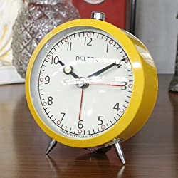 DULTON Alarm Clock YELLOW DT-100-053Q-YL from Japan