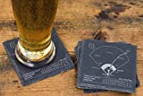 Greatest Red Sox Plays - Slate Coasters