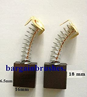 CARBON BRUSHES FOR POWERCRAFT POWER CRAFT ANGLE GRINDER PAG-125//1020 D131 D131
