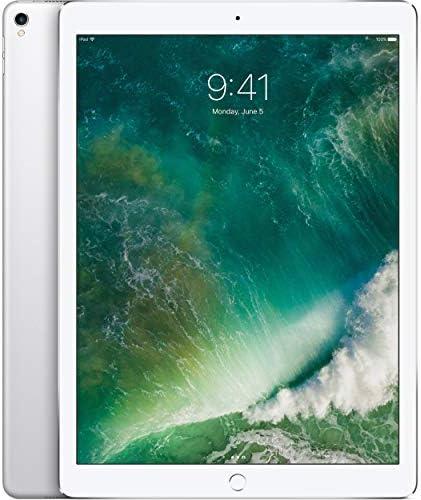 Apple iPad Pro 2d 12.9in with Wi-Fi 2017 Model, 256GB, SILVER (Renewed)
