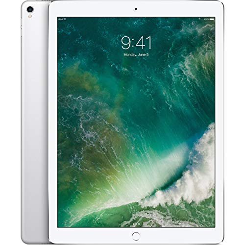 Apple iPad Pro 2nd 12.9in with Wi-Fi 2017 Model, 256GB, SILVER (Renewed)