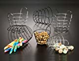 American Metalcraft WBC705 Round Wire Basket with