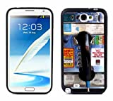 NT2 Payphone For Samsung Note 2 N7100 Case Cover