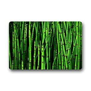 """New Style - Fashion bamboo Machine-washable Indoor/Outdoor Doormat 23.6""""(L) x 15.7""""(W)"""