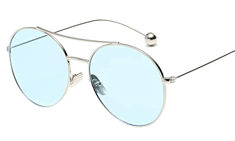Skudy - Gafas de sol elegantes con marco de metal para ...