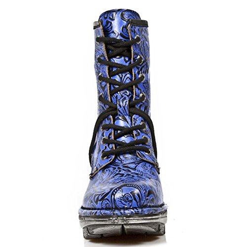 New Rock Neotrail Women's Leather Blue Boots M.NEOTR008-S10 Blue EkXT83x4J