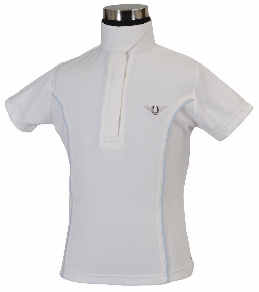 TuffRider Girl Girl Girl 's Kirby Kwik Dry Short Sleeve Show Shirt B00993NQN2 TurnierBlausen Verkaufspreis b5dbe5