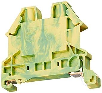 Dinkle DK4N-PE DIN Rail Grounding Terminal Blocks (Pack of 100)