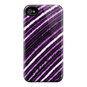 Cases Covers For Iphone 6 Strong Protect Cases - Purple Lines Design