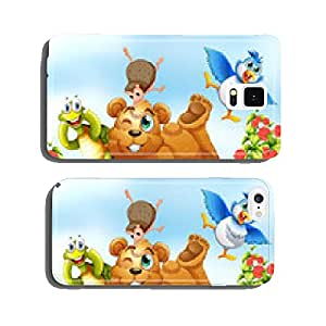 Animals cell phone cover case Samsung S6