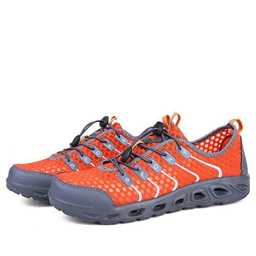 ZHRUI Barfuß Schuhe der Männer Männer Männer Rutschfeste Breathable Bequeme dauerhafte Wasser-Schuhe (Farbe   Grau, Größe   EU 43) B07HMRTGNL Sport- & Outdoorschuhe eine große Vielfalt 197d3e