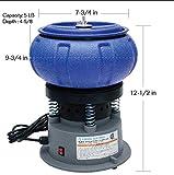 Leegol Electric 5LB Vibratory Tumbler Bowl Tumbling Polishing Machine - Polishing Small Metal Parts
