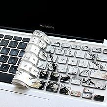 "Masino® Silicone Keyboard Cover Ultra Thin Keyboard Skin for MacBook Air 13"" MacBook Pro (US Version MacBook) with Retina Display 13""15"" 17"" (Marble AM)"