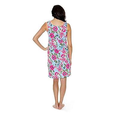 QUICKLYLY Vestido de Lactancia Maternidad 2 en 1 camisón de enfermería de Maternidad camisón Bolsa de Hospital Debe Tener, Embarazo amamantamiento Regalo de ...