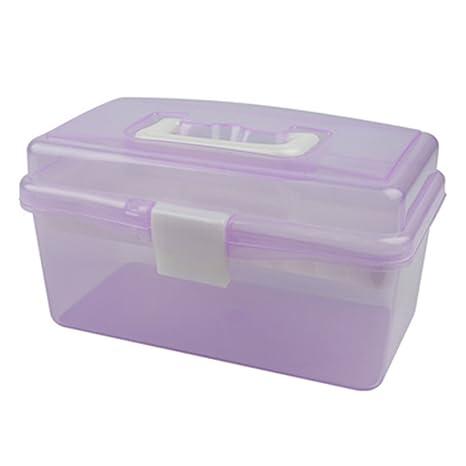 Cajas Really Useful - Cajas Almacenamiento Plástico transparente Caso Herramientas de Alta Calidad para Bolígrafo Herramientas
