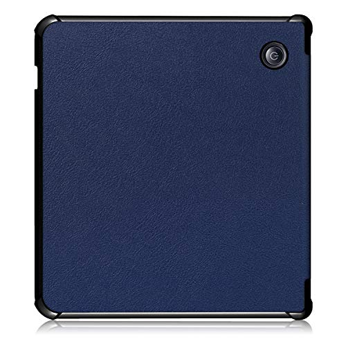 KuRoKo Kobo Libra H2O Sleep Case,Soft TPU Case Compatiable with Kobo Libra H2O 7 Inch 2019 Ultra Slim Lightweight Standing Sleep Cover, (Navy)
