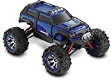 Traxxas Summit VXL: 4WD Electric Extreme Terrain Monster Truck with TQ 2.4 GHz Radio & TSM (1 16 Scale) - Blue