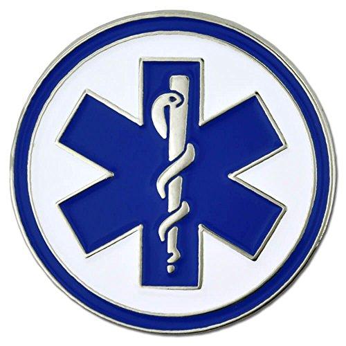 PinMart's Emergency Medical Technicians EMT Lapel Pin - Life Lapel Pin