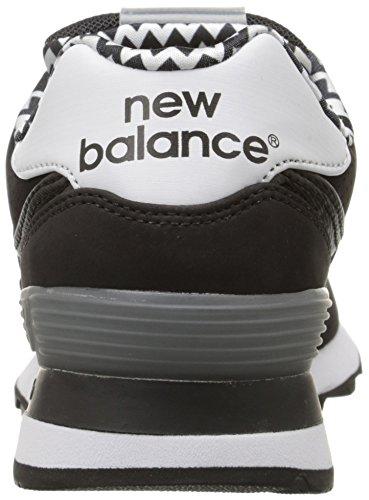 Classic unidades Balance mujer New Negro la de nbsp;acrílico WL574 Zapatillas RCwBZqx