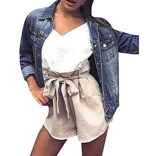 Cappotti Saihui Faded Vintage Tops Donna Blu Casual Attrezzata Giacche E Outwear Dark Da Cappotto Denim Blue Giacca Boyfriend ZvqXz4vrW