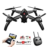 Cheap MJX B5W Bugs 5W RC Racing FPV Drone – Amazingbuy 2.4GHz 6-Axis Gyro 1080P HD 5G Wifi Camera – Long Range Drone With GPS, Altitude Hold, Headless mode,One Key Return,Follow Me,Bugs GO (Black)