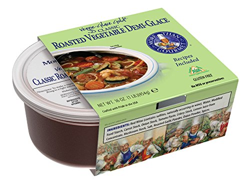 - More Than Gourmet Classic Roasted Vegetable Demi-Glace, 16 Ounces