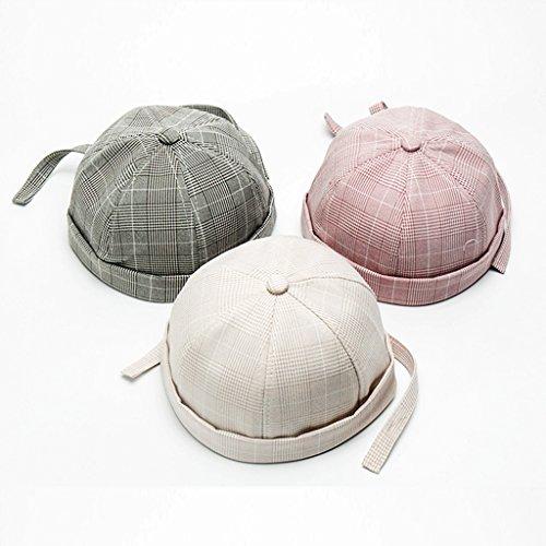 Summer Cotton Docker Hat Beanie Sailor Fisherman Cap For Kids Toddler Baby