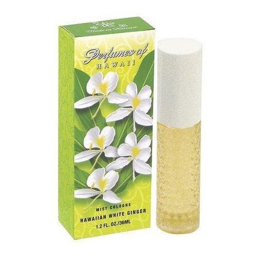 Perfumes of Hawaii - Hawaiian White Ginger Cologne Spray - 1.2oz. by Langer Perfumes of Hawaii