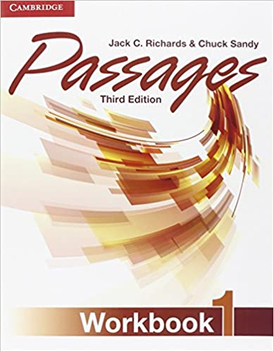 Passages level 1 workbook jack c richards chuck sandy passages level 1 workbook 3rd edition fandeluxe Image collections