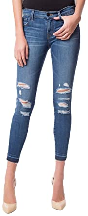6d1c439085f5 Amazon.com: J Brand 9326 Low Rise Cropped Skinny Jeans In Decoy ...