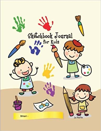 Sketchbook Journal For Kids Blank Notebook Sketchbooks