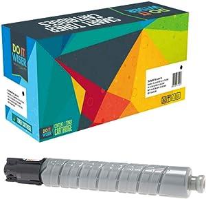Do it Wiser Compatible Toner Cartridge Replacement for Ricoh MP C307 MP C306 MP C406 MP C407   842091 (Black)
