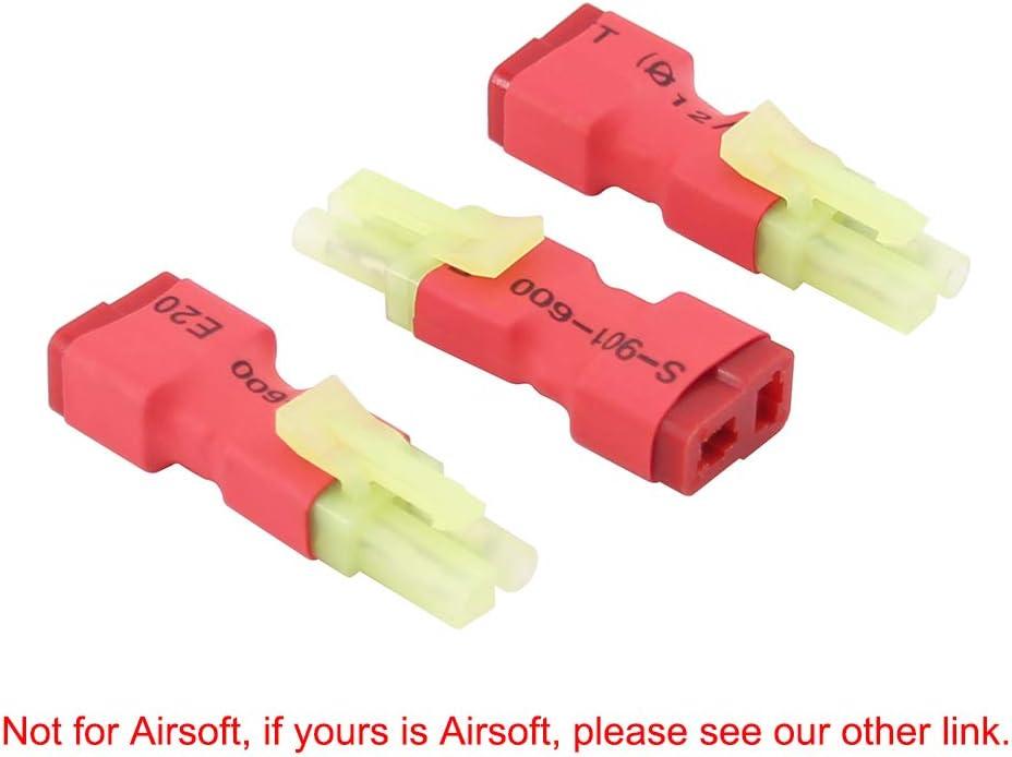 Airsoft  AEG LIPO adaptador T dean connector  mini tamiya