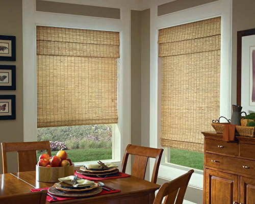 Samoa Natural Woven Bamboo Window Shade (55