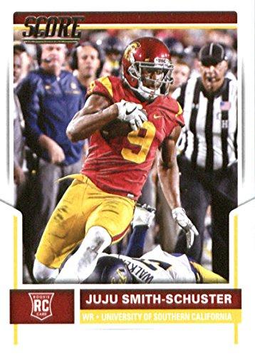 2017 Score #331 Juju Smith-Schuster USC Trojans Rookie Football Card (Trojans Usc Memorabilia)