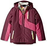Spyder Girl's Reckon 3-In-1 Jacket, Amaranth/Raspberry, Small