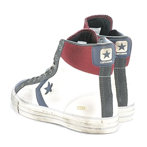 Forme Converse Leather En Mixte Hi De Star Player Adulte Bottines Chaussures Blanc cYRwZFYq