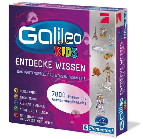 Clementoni 69159.3 - Galileo - Kids Das grosse Wissens-Quiz