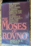 The Moses of Rovno, Huneke, Douglas K., 0396087140