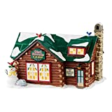 Department 56 Snow Village Girl Scouts Camp