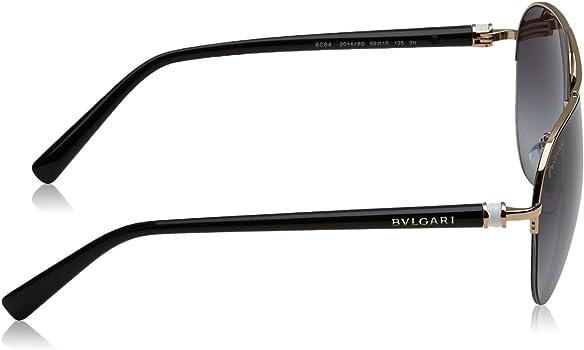 Amazon.com: Bvlgari bv6084 de la mujer anteojos de sol ...