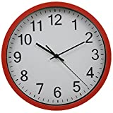 """Harryup 12"""" Silent Non-Ticking Wall Clock Easy to"""