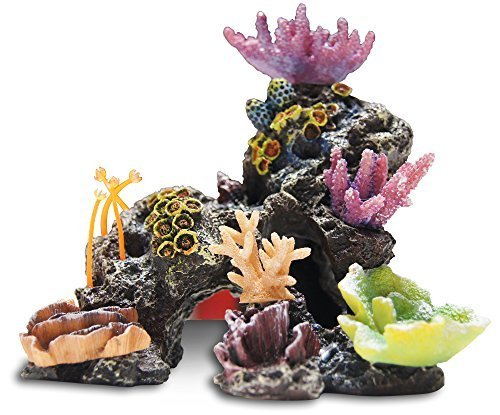 Medium Coral Aquarium Ornament by Top Fin