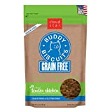 Cloud Star Grain Free Buddy Biscuits for Cats, Tender Chicken, 3 Ounce