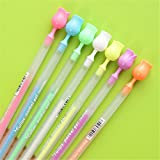Material : Plastic Size : Length 17.5cm Ink Color : 7 Colors Writing point : 1mm Package : 7 X Marker pen