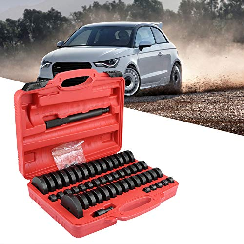 Bush Bearing Seal Driver Set, 51pcs Interchangeable Custom Bushing Press Set Remover Installer Removal Built Hand Tool Slide Hammer Puller Kit for Car Repair by Zerone (Image #1)