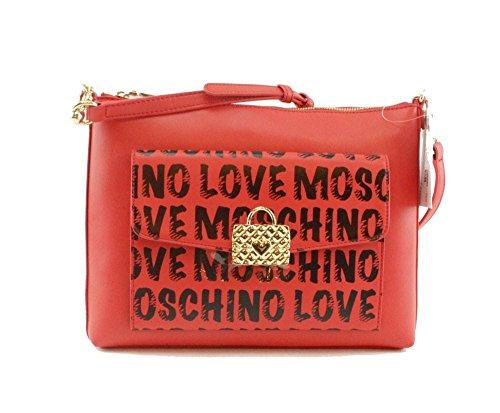 Love Moschino , Damen Schultertasche rot rot