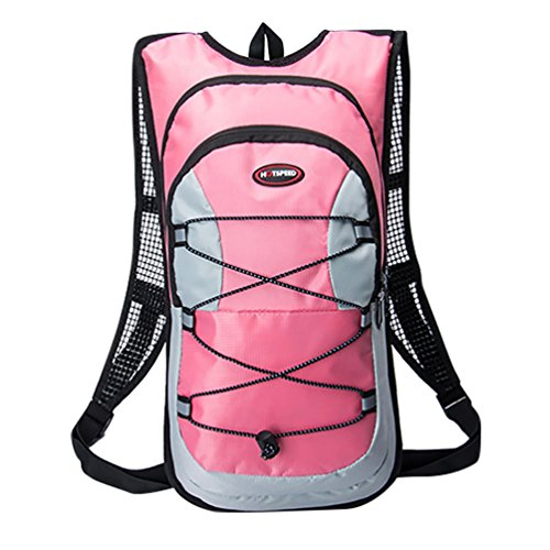 12l Tour Hydration Backpack Water Pink Yijee Bag Bicycle PHdZRwPqx